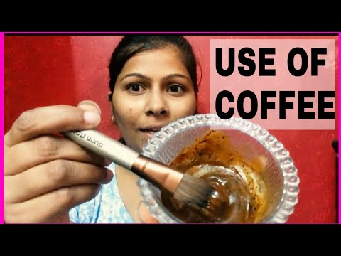 How to get glowing skin and remove dead skin cells With coffee