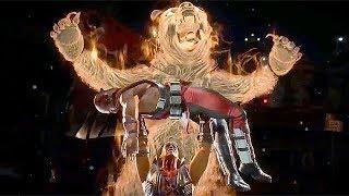 Mortal Kombat 11 Nightwolf All Fatalities Intro Second Fatality Fatal Blow (MK11)