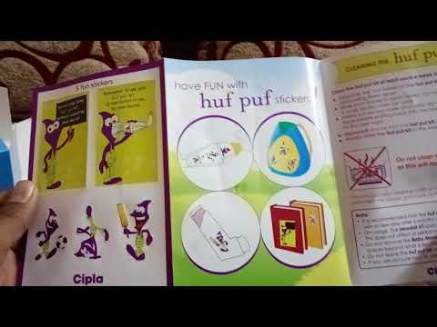 Cipla huf puf kit with spacer and baby mask for inhalation