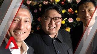 Trump-Kim summit: Kim Jong Un visits Gardens by the Bay, Marina Bay Sands