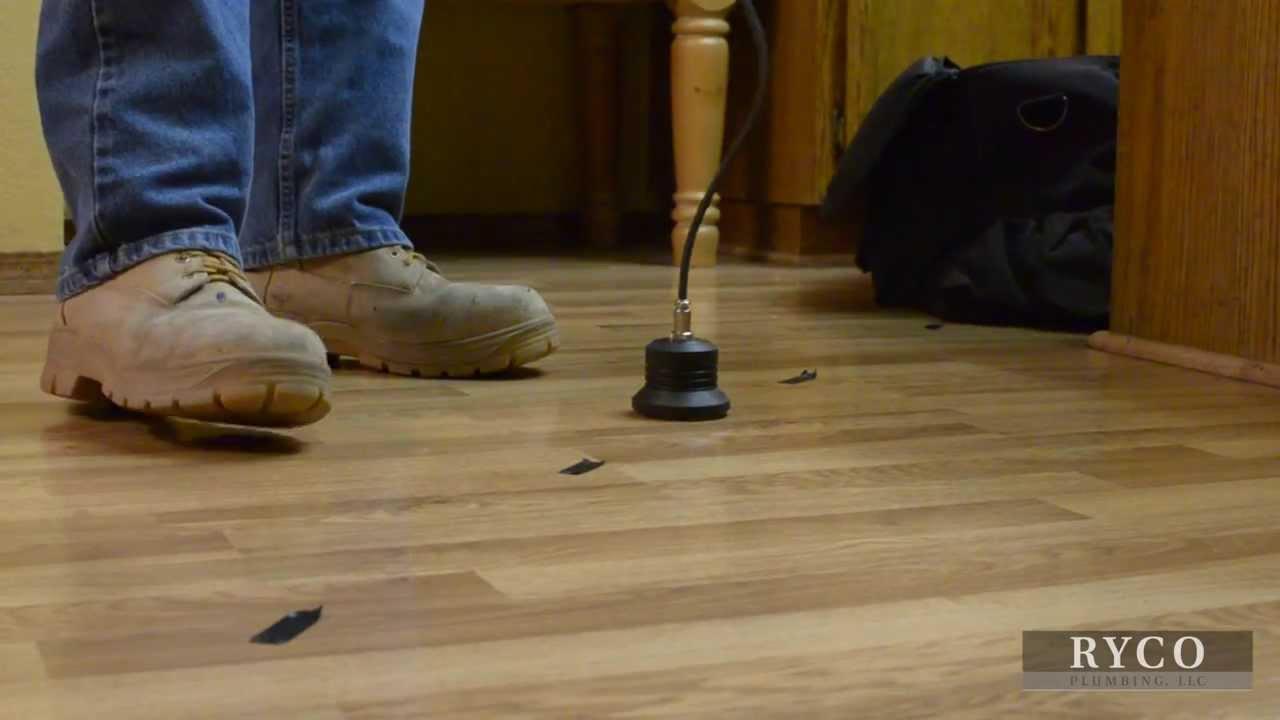 How Professional Plumbers Find Slab Leaks