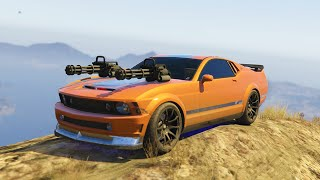 ULTIMATE VEHICLE WEAPONS MOD (GTA 5 Mods Funny Moments)