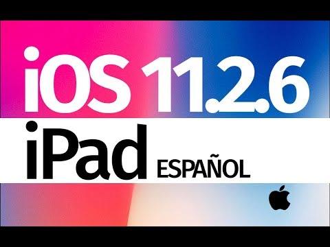 Como Actualizar al iOS 11.2.6 - iPad Pro, iPad mini, iPad Air iPad