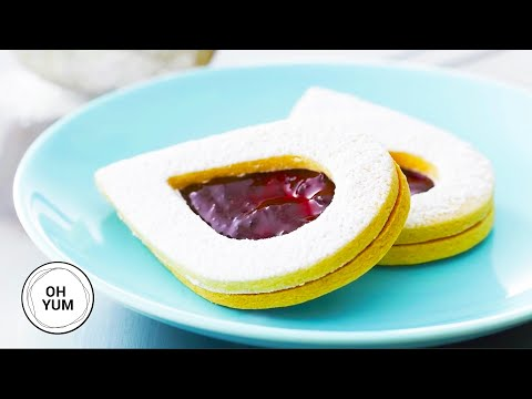 Almond Linzer Cookies | Oh Yum with Anna Olson