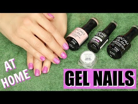 HOW TO DO GEL NAILS AT HOME | The Glam Belle
