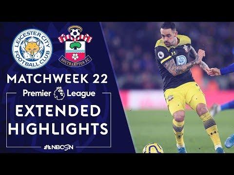 Leicester City V Southampton PREMIER LEAGUE HIGHLIGHTS 1112020 NBC Sports
