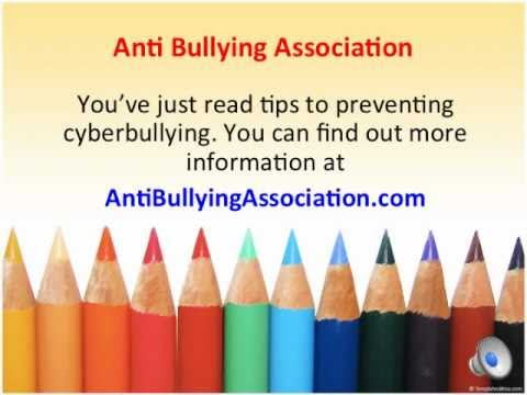 Preventing Cyberbullying - Top Ten Tips For Teens