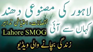 Smog Information Urdu Hindi Lahore Smog Health Video