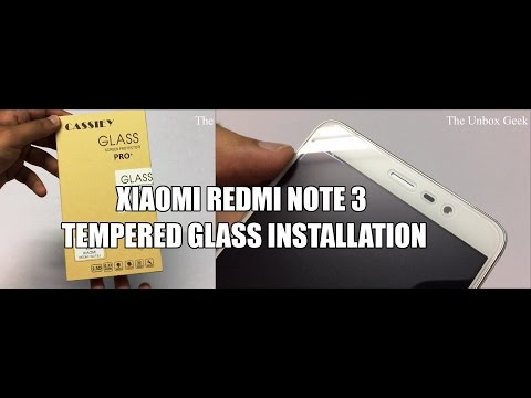 Cassiey Tempered Glass For Redmi Note 3 Unboxing & Review (INDIA)