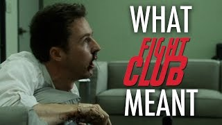 Fight Club - What it all Meant