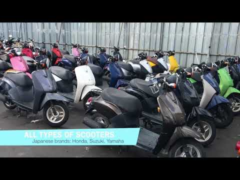 Used Japanese bikes: motorcycles and scooters for sales from Japan