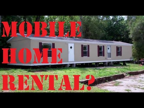 Should You Purchase A Mobile Home to Rent?
