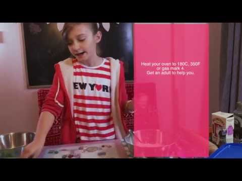 How to make Homemade Cinnamon Cookies by 10 year old Skye