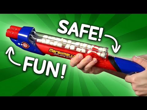 Marshmallow Double Barreled Shooter