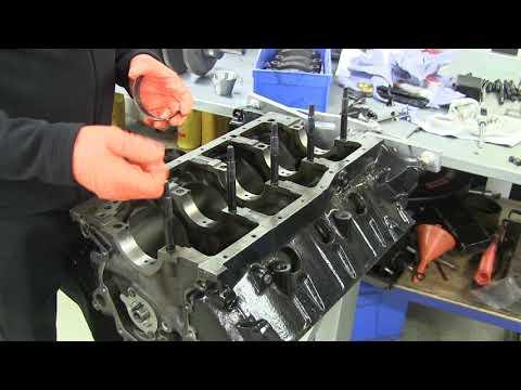 408W build PART 4  Camshaft and Crankshaft