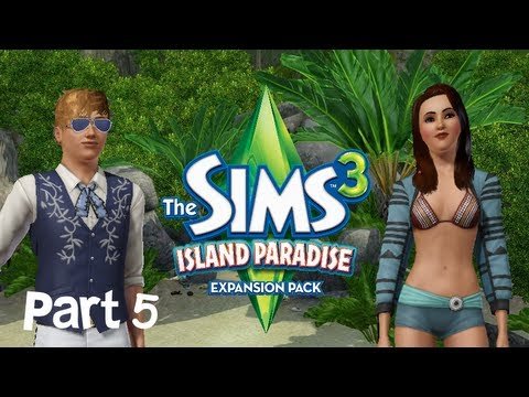 Let's Play: The Sims 3 Island Paradise - (Part 5) - Progress Galore! w/Commentary