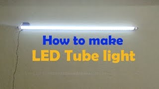 How to make led tube light (convert old tube tight in to Led)
