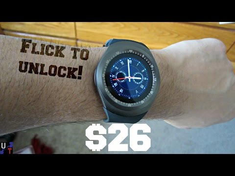 Y1 Bluetooth Smartwatch Overview! (Now $14.39!)