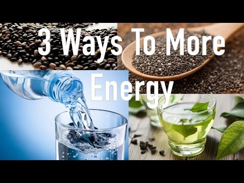 3 Natural Ways to Get More Energy & Increase Health