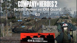 Company Of Heroes 2: Bloodbath 4v4 Tournament - 2nd Quarter Finals - G3 Polish Power Vs Old Guard
