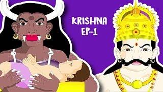 Role Of Krishna In Mahabharat | Hindi Cartoon HD | Mahabharat Cartoon Story [1] Masti ki Paathshala