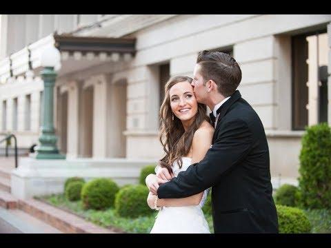 Morgan + Stephen's downtown Tulsa wedding at Skyloft