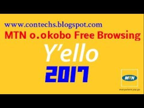 MTN FREE BROWSING 0.00K (100% WORKING)