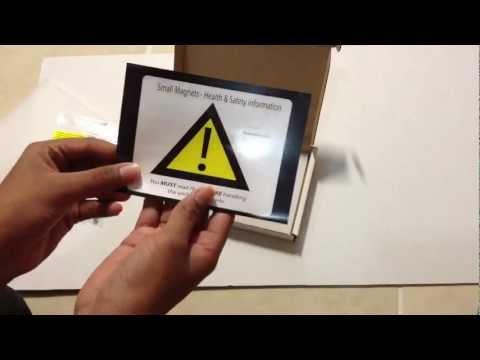 Unboxing Neodymium magnets from Amazon