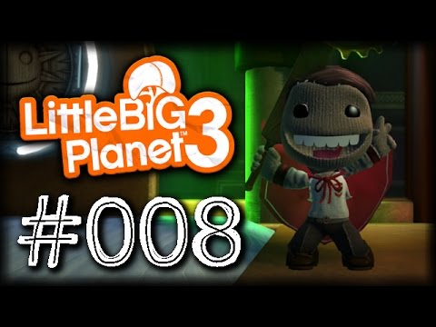 Let´s play LittleBigPlanet 3 #008 [English] [Facecam] [Full-HD] - New costume! :O
