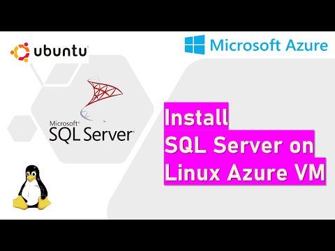 Install SQL Server on Linux Azure VM