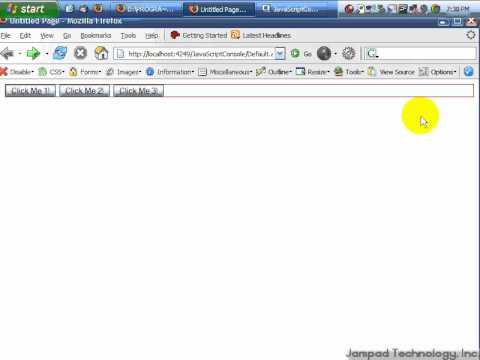 Part 4 - Using the Web Developer Toolbar