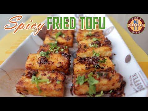 Spicy Fried TOFU Recipe - Spicy & Delicious | Easy & Quick Recipe - VEGETABLE SNACKS