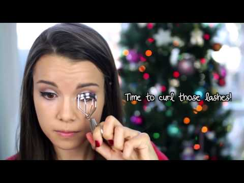 Get Ready With Me! ❄ Holiday Party Makeup, Hair, and Outfit missglamorazzi