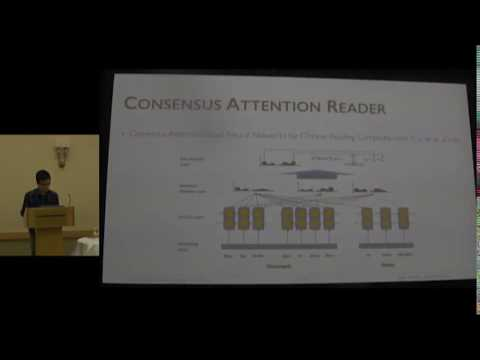 Attention over Attention Neural Networks for Reading Comprehension | ACL 2017 | Outstanding Paper