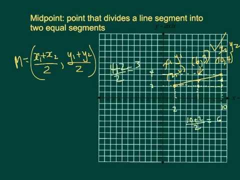 2.1 midpoint formula