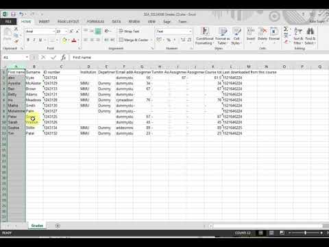 #402 Muddled data in Excel? Sort it out!