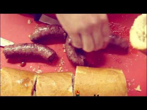 Boerewors & Garlic Cheese rolls