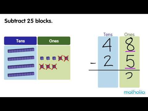 Subtraction to 50 (Without Regrouping)
