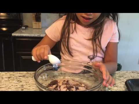 Making Betty Crocker Double Chocolate Chunk Cookies! | Chef Mica Ep. 1