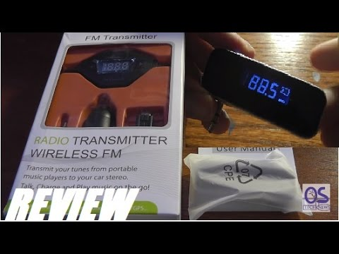 REVIEW: FM Radio Music Transmitters Smartphone