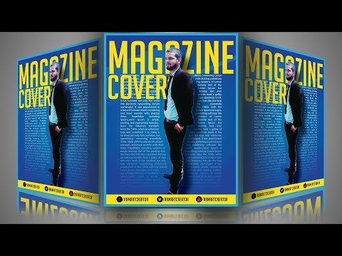 How To Design a Beautiful Magazine Cover in Adobe illustrator