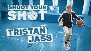 Tristan Jass Teaches B-Dot An INSANE Layup | Shoot Your Shot