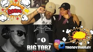 Big Tobz - Fire In The Booth (REACTION) NEW* HEAT!!