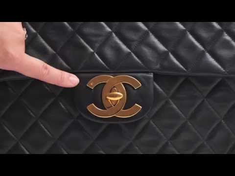 Top 5 tips to authenticate a vintage Chanel flap bag
