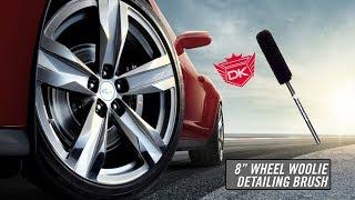 """8"""" Wheel Woolies Detail Brush - Detail King"""