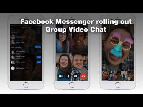 How To Do Group Video Chat On Facebook Messenger - Tutorial
