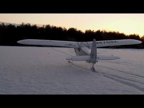 Hobby Zone Super Cub winter flying