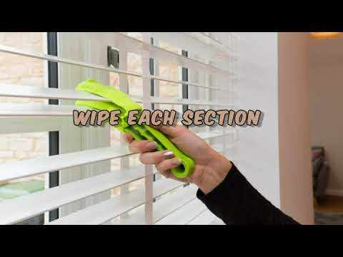 A Guide For Cleaning Wooden Blinds