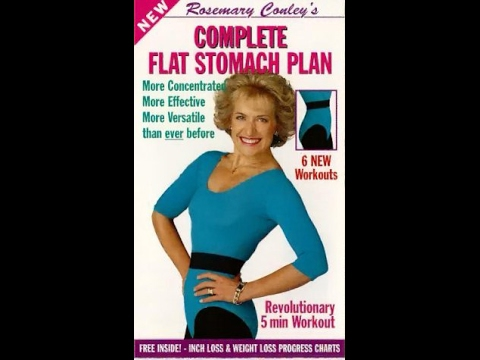Rosemary Conley: Complete Flat Stomach Plan Complete VHS