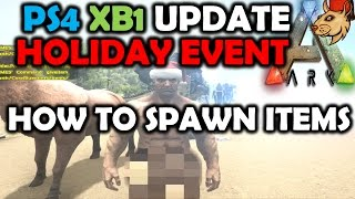 Ark Survival Evolved Christmas Event.Full Hd Ark Christmas Holiday Event Update Xbox One And